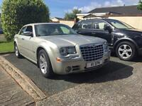 2007/56 CHRYSLER 300 C 3.0 V6 CRDT AUTO OYSTER METALLIC GREY LEATHER 44,000 ONLY