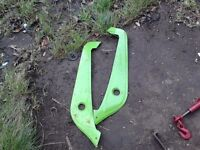 2 front plastic panels from electric bike. £3 each. Hackney, East London