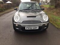 MINI COOPER S - LOW MILEAGE - GREAT CONDITION - LONG M.O.T