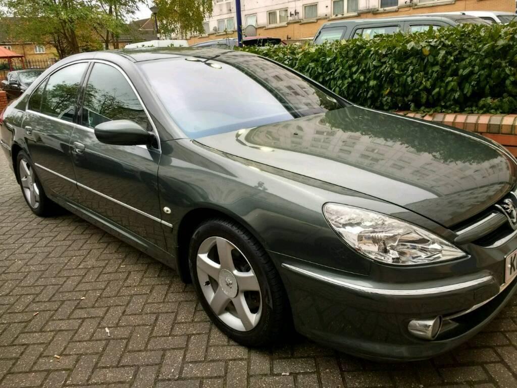 Peugeot 607 SE. 2230cc, 2006, 56 reg, Automatic, 4 door saloon, Petrol, Grey, 12 Months Mot.
