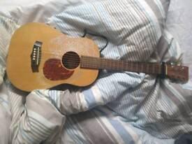 Tanglewood traveler guitar