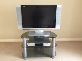 "Panasonic 26"" LCD TV & DVD Recorder including TV Stand"