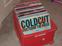 """130 x 12"""" Old Skool Dance / Acid House Vinyl Records Collection 80's - 90's"""
