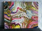 ACRYLIC POURING PAINTING ABSTRACT