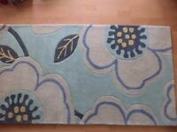 BRAND NEW contemporary opal rug 100% wool duck egg