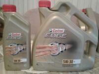 Castrol Edge Engine Oil For Sale - 0W-30, 5W-30, 0W-40, 5W-40 & GTX Ultraclean 10W-40