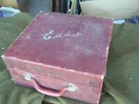 1930s CORONET PORTABLE GRAMOPHONE RECORD PLAYER $40 FOR PARTS