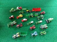 Selection of minature tractors, quads, trailers, lorry etc. for sale