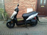 2012 Kymco Agility 125 scooter, long MOT, runs well, good condition, automatic, ready to ride away,,