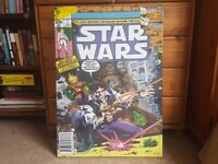 Star Wars retro comic canvas picture, brand new!