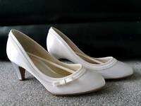 Never worn wedding shoes - size 4