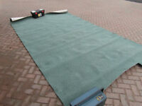 Carpet off-cut 7 foot 8 inches by 13 foot 1.5 inches. 233cm x 400cm.