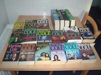 Martina Cole Books (20 of) 16 paperbacks 4 hardbacks