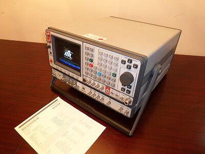 Ifr Aeroflex 1600s Communication Monitor W 1600csa Test Set Adapter - Cald