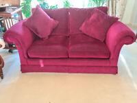 Duresta Kipling sofas - matching 2 seater and 3 seater
