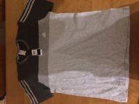 Adidas short-sleeved shirt, size large