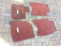 Civic Type R floor mats/carpets