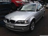 2002 BMW e46 3 series 318i SE 4dr Auto Titan silver BREAKING FOR SPARES