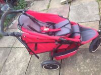 PHIL AND TEDS SPORT double pushchair/ buggy