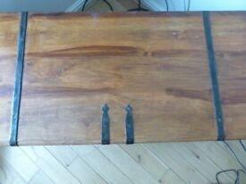 Wooden chest/blanket box