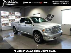 2018 Ram 1500 Laramie | LEATHER | SUNROOF | HEATED SEATS |