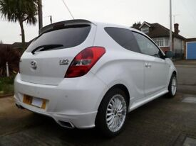 Hyundai i20 S Edition, White, 1.2 petrol engine, Manual gearbox, low mileage and very good condition