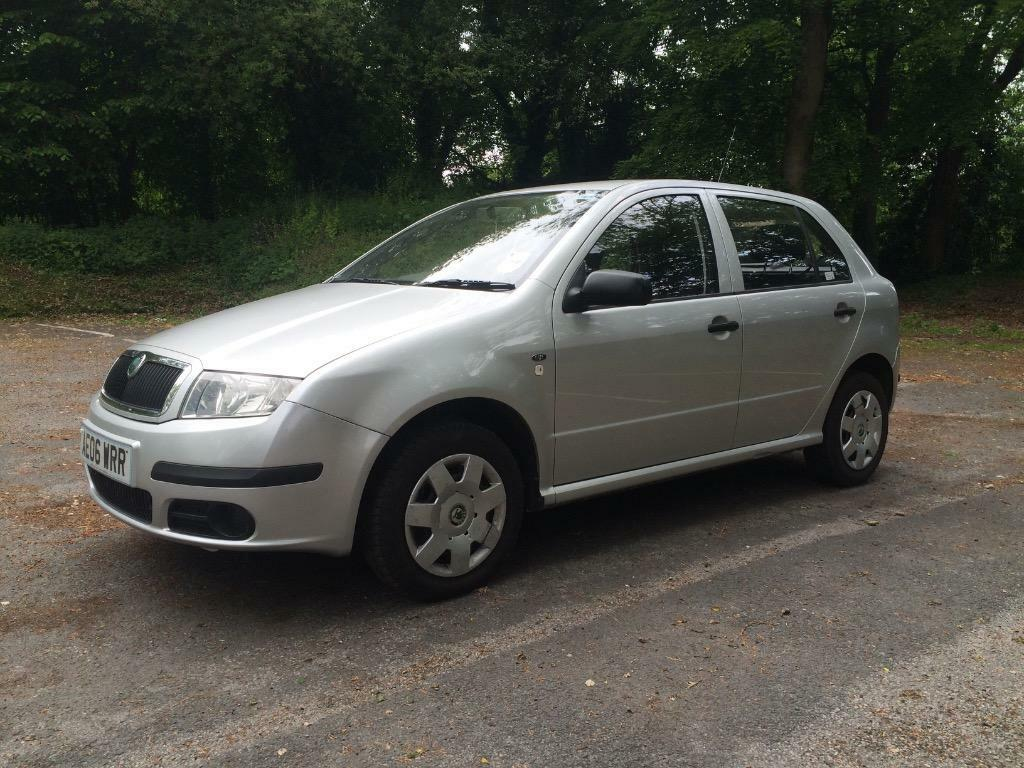 2006 skoda fabia 1 2 classic only 65000 miles with full service history 12 months mot. Black Bedroom Furniture Sets. Home Design Ideas