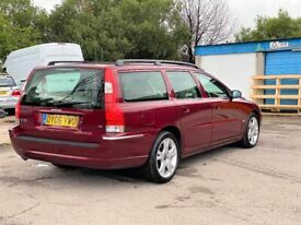 image for Volvo V70+Estate+2006+Auto+2.4 Diesel+FSH 16 Stamps+Heated Cream Leather+Elec Sunroof+New Mot