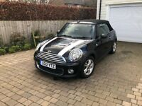 2012 MINI ONE AVENUE CONVERTIBLE 1.6 - 1YEAR MOT - FULL SERVICE HISTORY