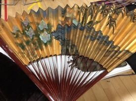Chinese decorative folding fan