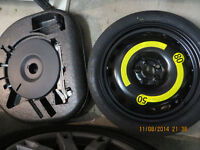 Space saver spare wheel for Audi/VW