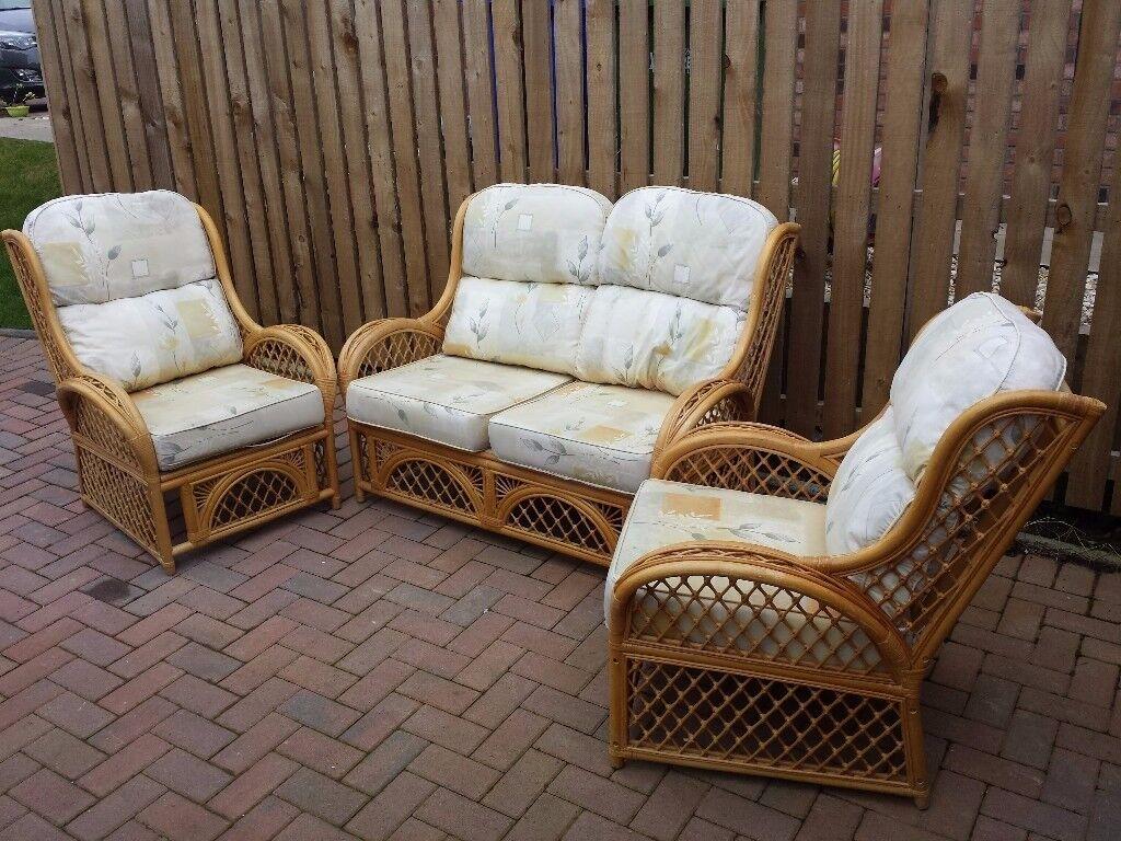 Three piece conservatory furniture