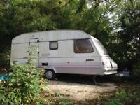 Sprite Major 1991 caravan bought as a project for the garden, change of circumstance needs to go.