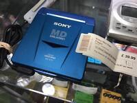 Sony MD Walkman mini disc MZ-E33