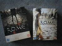 Rome The Complete First & Second Season boxed sets. Excellent condition