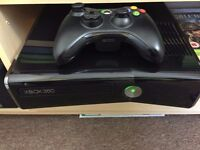 XBOX 360 GLOSSY & GOLD CONTROLLER AND GTA 5 STEEL CASE