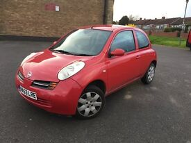 Nissan micra with low miles