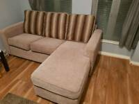 Sofa with extension - 2 styles - Fabric