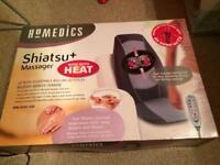 HoMedics heated back massaging cushion