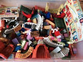 Lego duplo and mega blocks