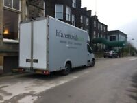Uk and European man and van removal service