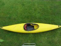 German Prijan Invader General Purpose Polyethylane Kayak