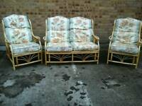 Patterned 3 piece conservatory furniture
