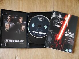 DVD STAR WARS SET: