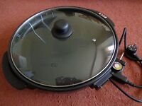 ELECTRIC MULTI COOKER PIZZA OVEN FRYING PAN