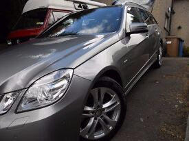 Mercedes Benz E250 Diesel Estate. Low mileage. Panoramic roof. 6 speed manual.