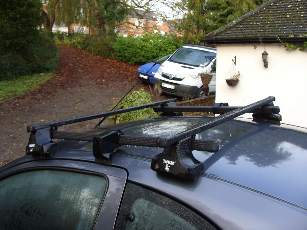 Ford Ka Sport Thule Roof Rack System Square Bars Short Roof