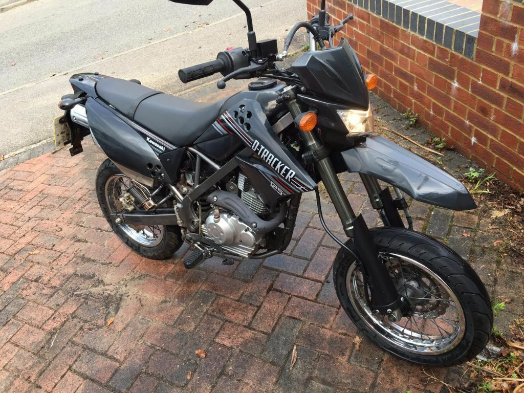 KAWASAKI KLX 125 DAF D TRACKER For Sale Great Learner Bike