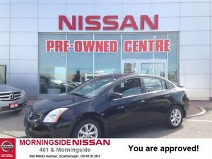 2011 Nissan Sentra 2.0 S Auto, power options, alloys, spoiler