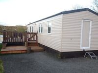 Willerby Solstice 35x12 Double Glazed and Central heated with 3 beds and large deck static for sale